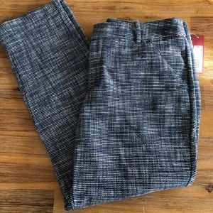 NWT Merona Tweed Ankle Pants